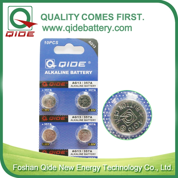 Blister Card AG13 Button Cell