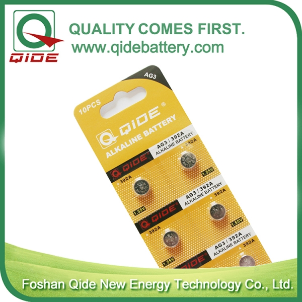 Blister Card AG3 Button C...